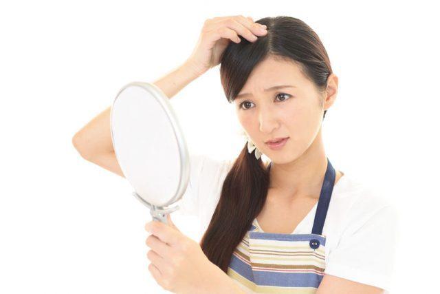 前髪の量が減ってヘアスタイルに影響