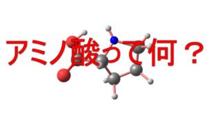 アミノ酸の画像