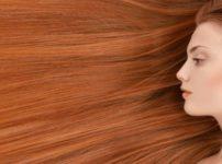 髪が美しい女性の画像
