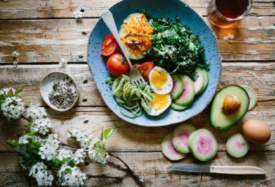 ヘルシーな食べ物の画像