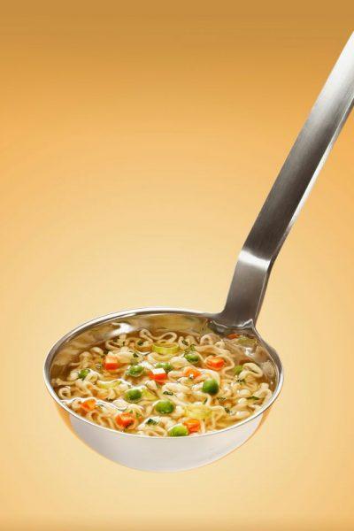 スープは残そう